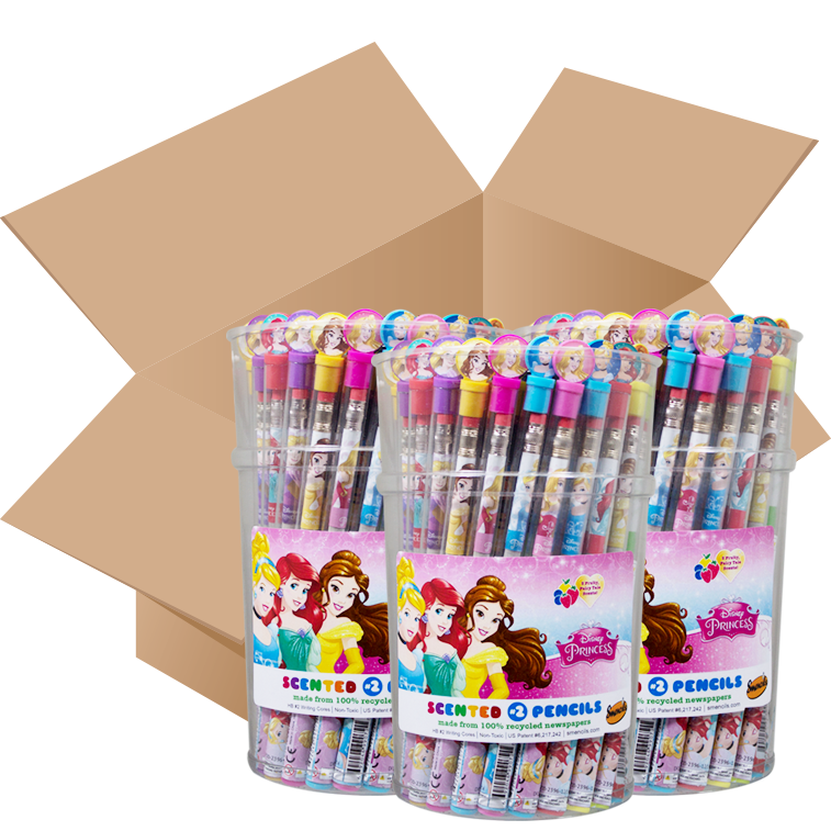 Disney Princess: Case of 10 Smencils buckets