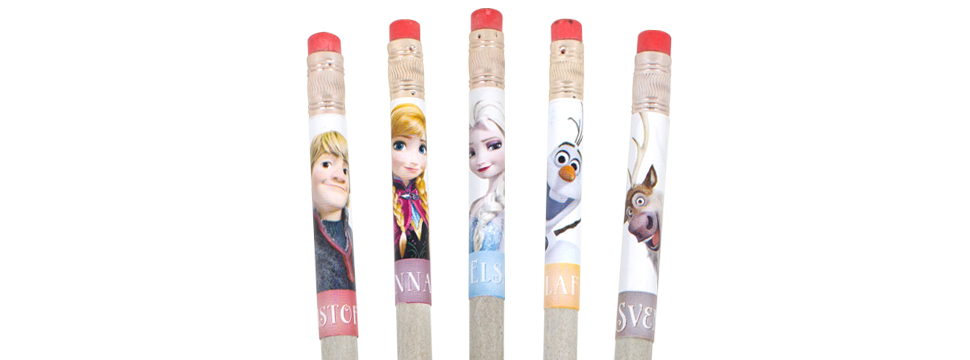 Disney Frozen Smencils come in 5 wintery, sweet scents