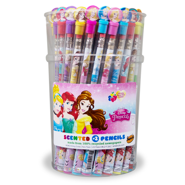 Disney Princess: Bucket of 50 Smencils
