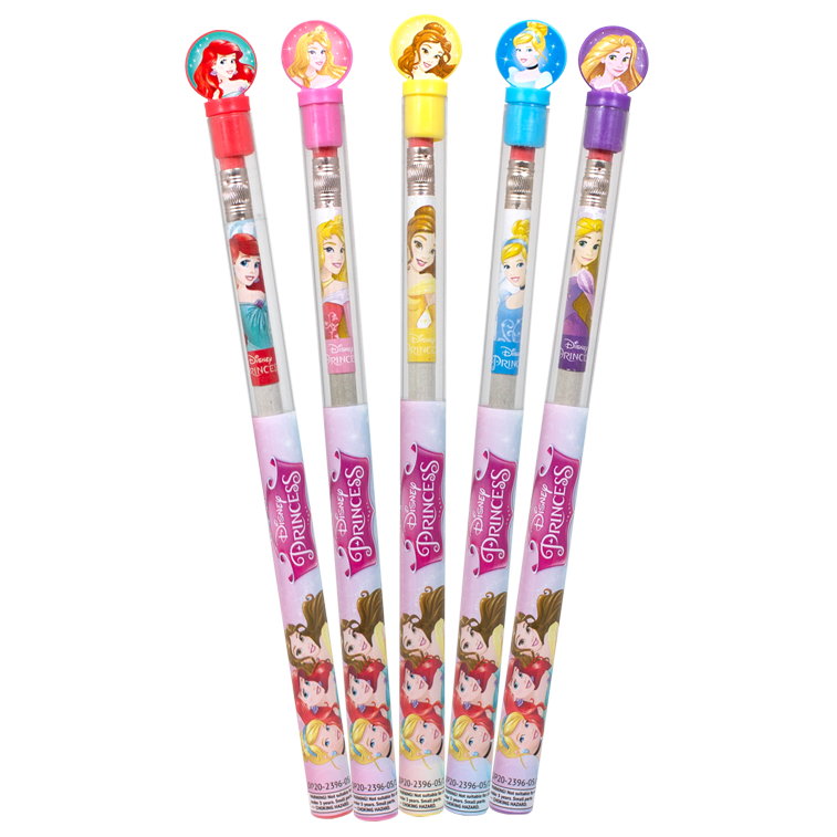 Disney Princess Smencils tubes